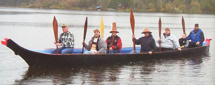 Clatsop-Nehalem canoe