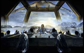 Dali -- Sacrament of the Last Supper