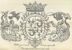 Arms of the Dauphin of France (1604) by Jean de Beaugrand