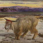 The Scapegoat by William Holman Hunt, 1854