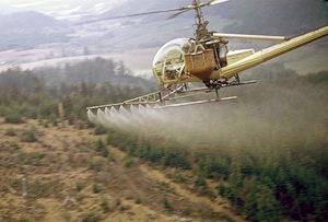 Aerial Herbicide Spraying BLM Photo